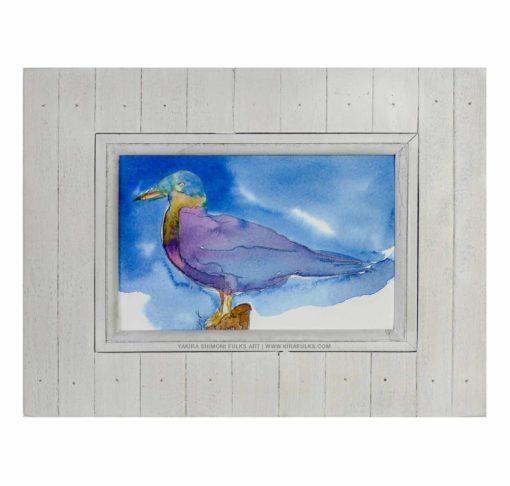 C-Gull-Bird-Watercolors©Yakira Shimoni Fulks—Kira Art and Poetry