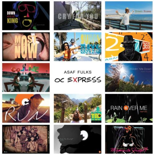 OC EXPRESS-CD Cover©Yakira Shimoni Fulks—Kira Art and Poetry