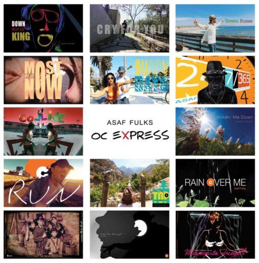 OC EXPRESS-CD Cover©Yakira Shimoni Fulks—Kira Art and Poetry