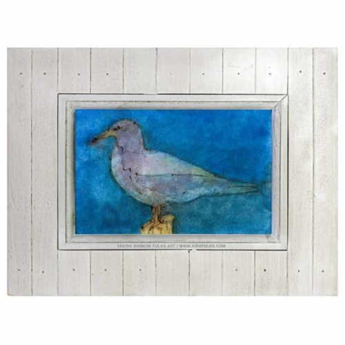 OC Gull-Bird-Watercolors©Yakira Shimoni Fulks—Kira Art and Poetry