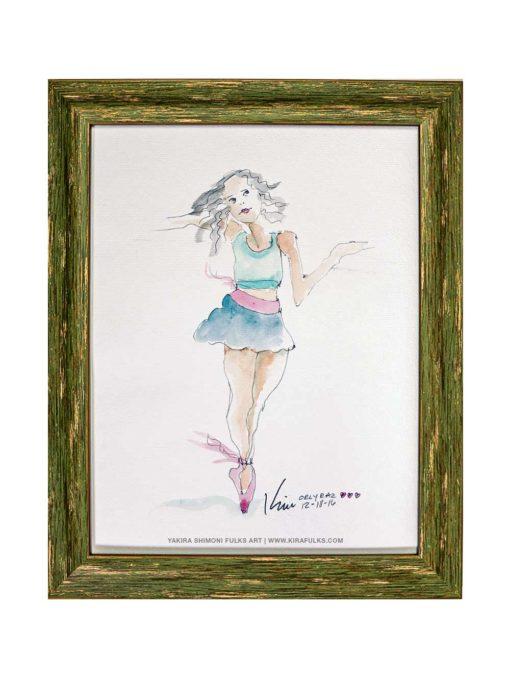 ORLY-Watercolors©Yakira Shimoni Fulks—Kira Art and Poetry