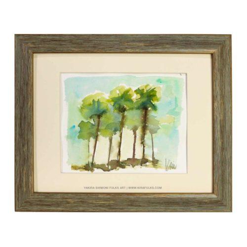 Palm Desert Watercolors ©Yakira Shimoni Fulks—Kira Art and Poetry