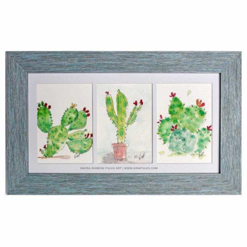 Prickly Pears-cactus ©Yakira Shimoni Fulks—Kira Art and Poetry