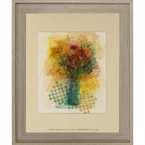 SPRING BOUQUET-Watercolors©Yakira Shimoni Fulks—Kira Art and Poetry