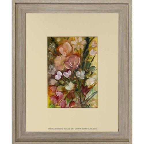 SUMMER FLOWER-Watercolors©Yakira Shimoni Fulks—Kira Art and Poetry