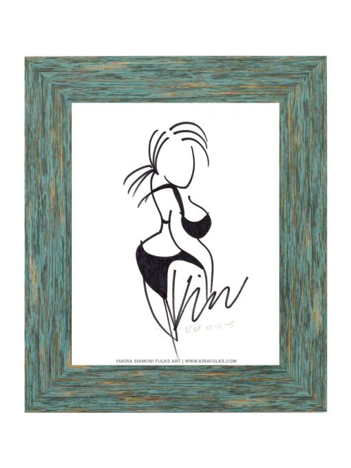 Sassy-4-Drawing ©Yakira Shimoni Fulks—Kira Art and Poetry