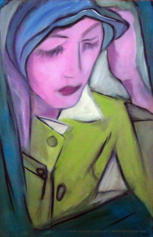 The Lonely Rose-Painting-63©Yakira Shimoni Fulks—KirasArt and Poetry
