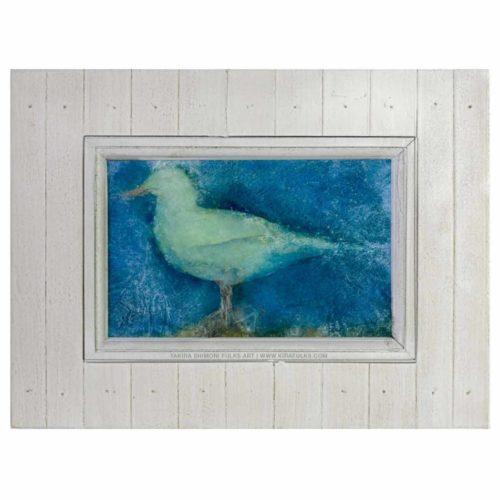Whitey Gull-Bird-Watercolors ©Yakira Shimoni Fulks—Kira Art and Poetry