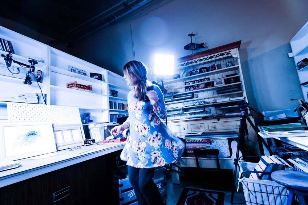 Kira's Studio1 ©Yakira Shimoni Fulks