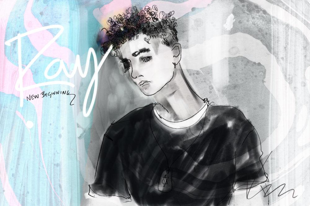 Ray Goren NEW BEGINNING-1 Cover ©Yakira Shimoni Fulks—Kiras Art and Poetry