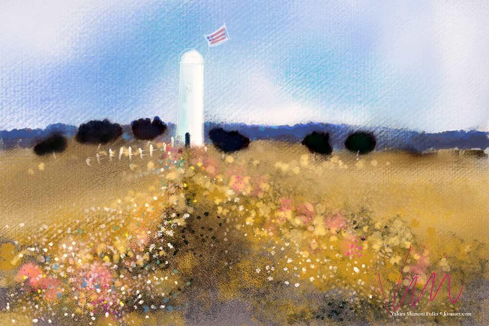 Come Sing-Lighthouse ©Yakira Shimoni Fulks—Kira Art and Poetry