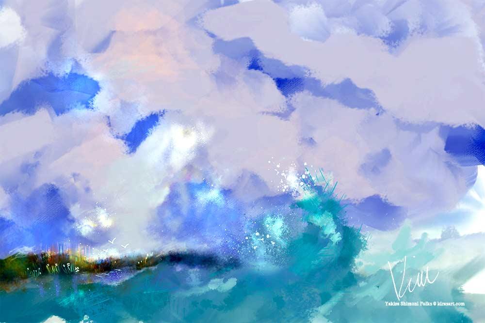 Ocean Spray ©Yakira Shimoni Fulks—Kiras Art and Poetry