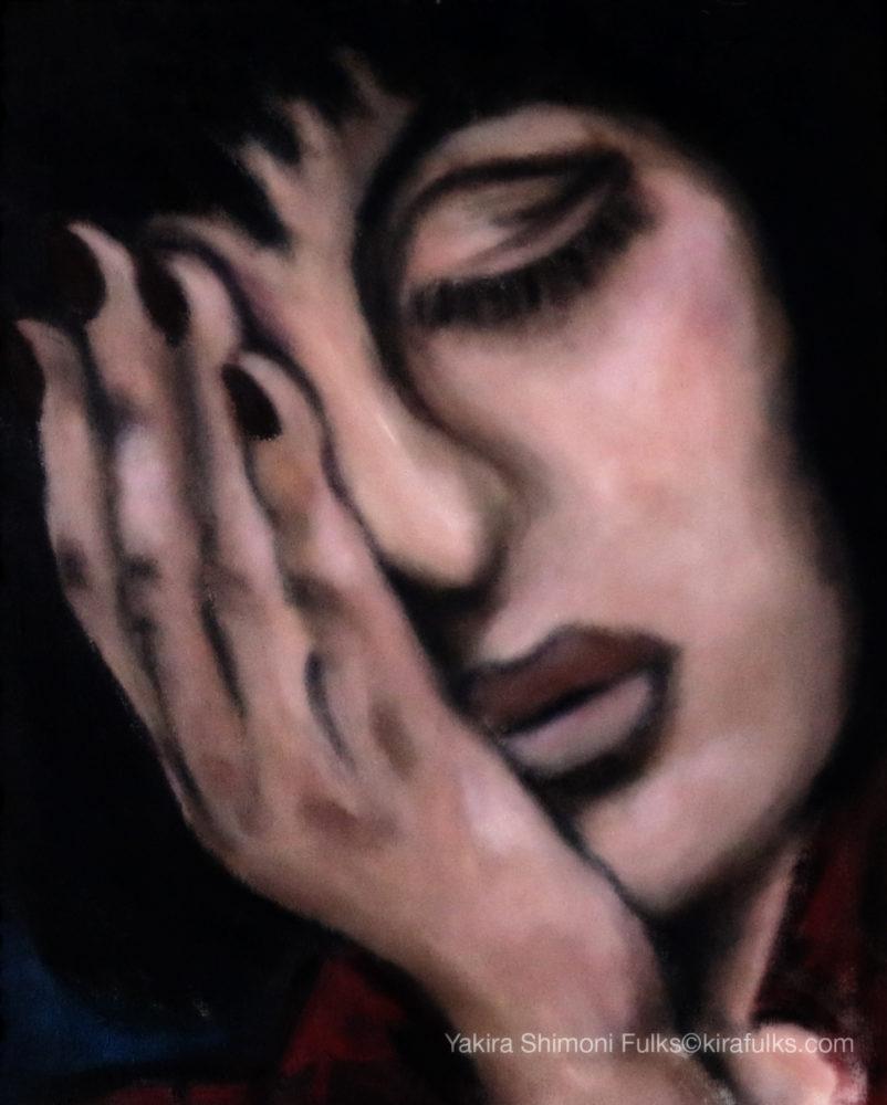 When Death Lands-Painting 38 ©Yakira Shimoni Fulks—Kira Art and Poetry
