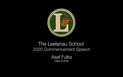 Asaf Fulks' Graduation Speech 2020