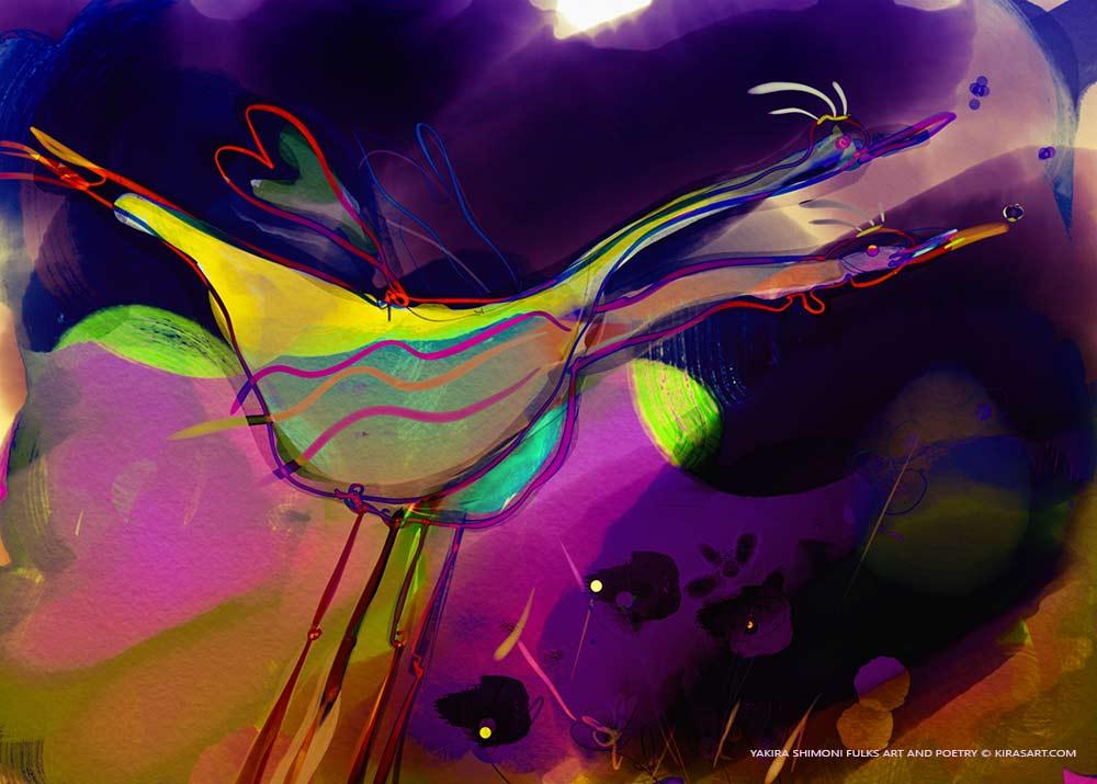 Birds-Yakira Shimoni Fulks Art and Poetry