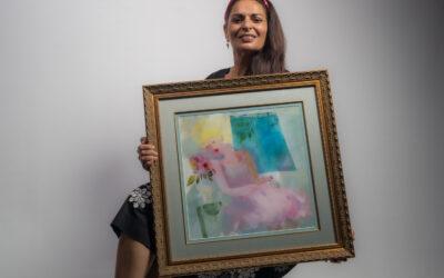 Velvet Rose Art Print